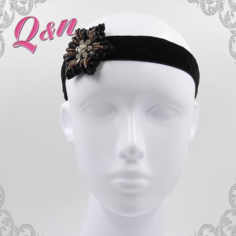 Decorative stone crystal bridal headband