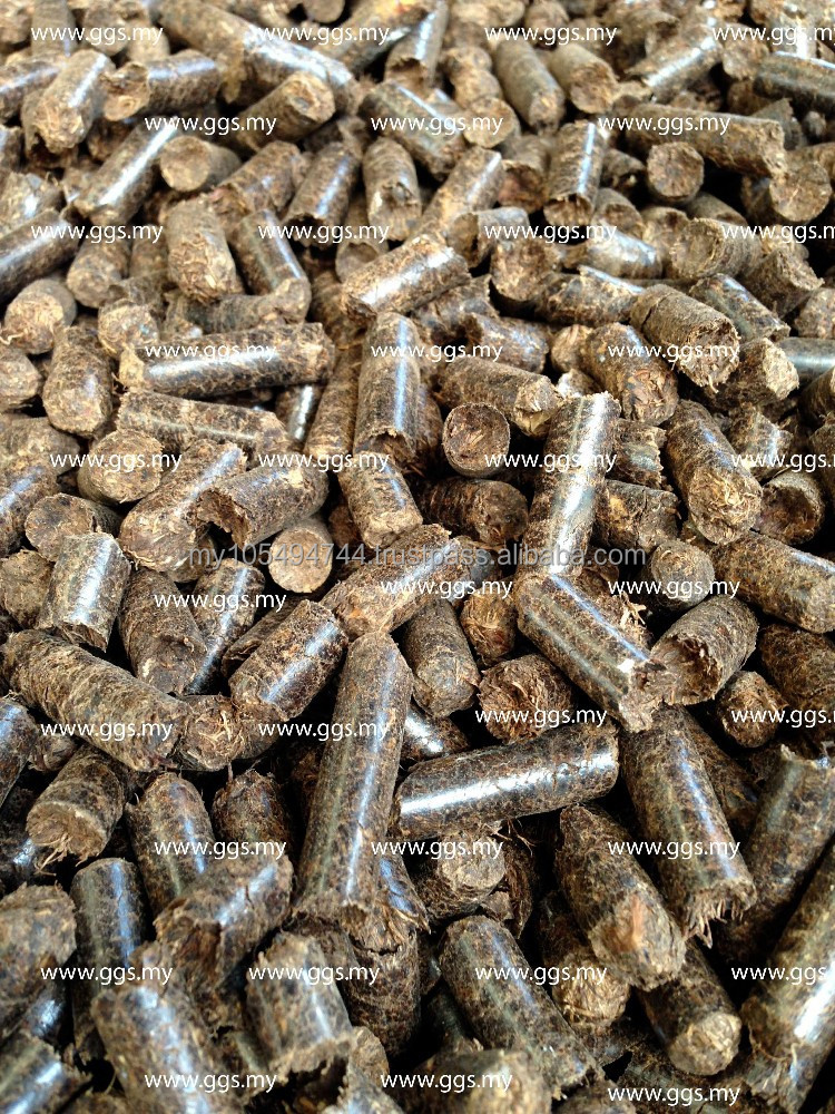 Animal Bedding Pellet from Palm Empty Fruit Bunch