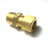 Brass Tube Fitting Male Connector
