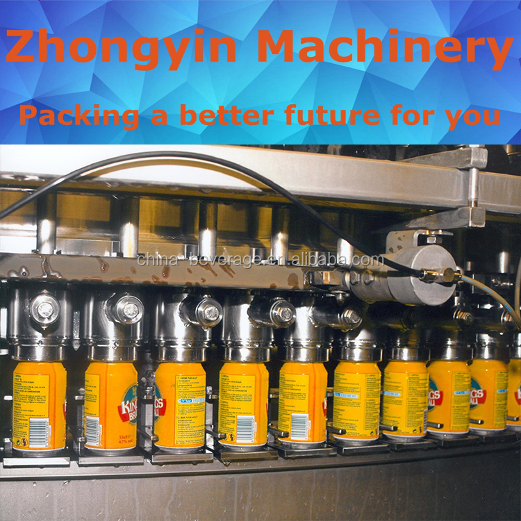 Brewers choice carbonated drinks drink canning equipment beer filling&capping line