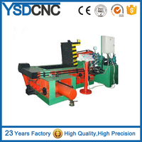 high quality Y81-160 Hydraulic Stainless Steel Cylindrical Type Metal Scrap Baler for sale