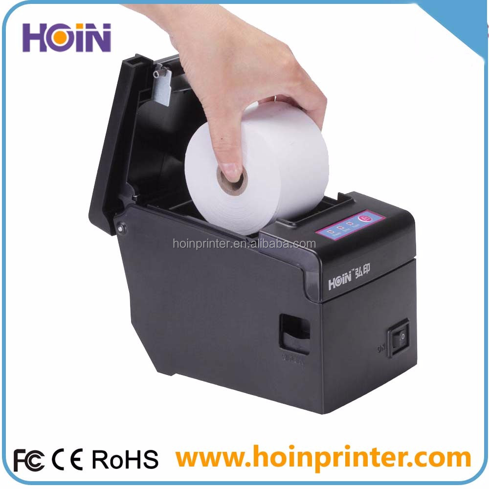 POS printer are ideal for retail, restaurant, bar, nightclub 3-in-1 port for effective printing