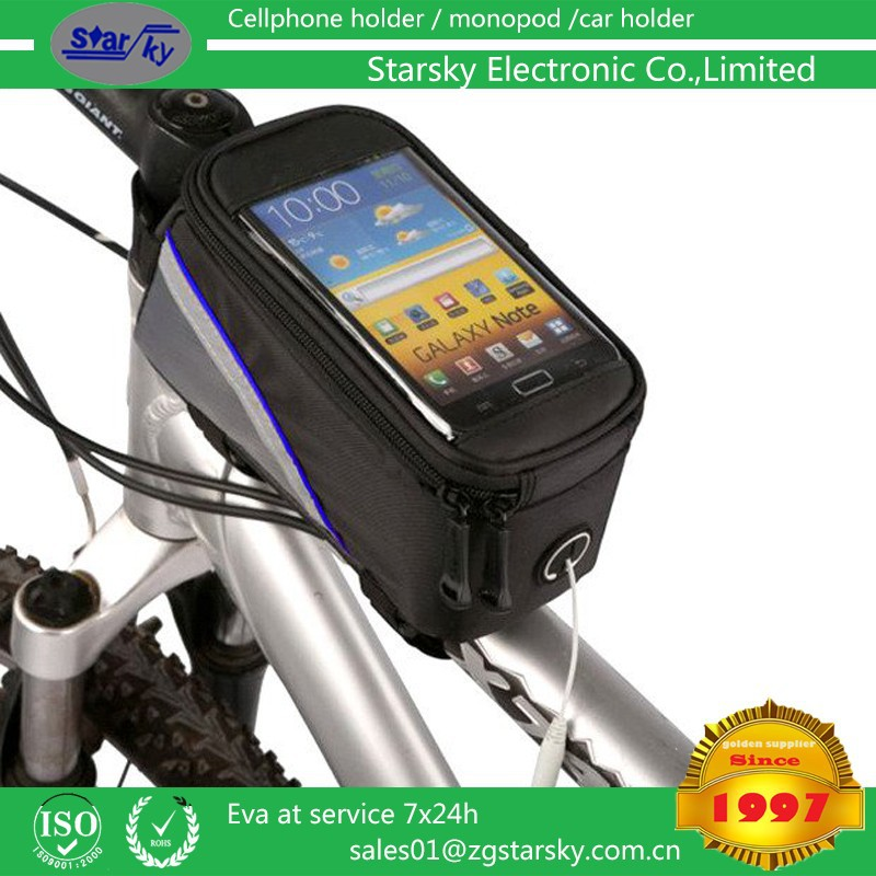 waterproof bag for Bike Mount Outdoor Sand-proof Snow-proof Dirt-proof Tough Touch Case Mobile Phone Waterproof Bag for bike
