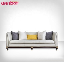 Luxury European Style 3 Seater Sofa For 3-5 Star Hotel <strong>Furniture</strong>
