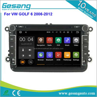car audio system car radio Android car dvd player for VW Volkswagen GOLF 6 2006-2012