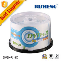 RISENG 4.7GB 8x/16x grade a wholesale blank dvd r/blank dvds factory supplying/princo dvd blanks for sale