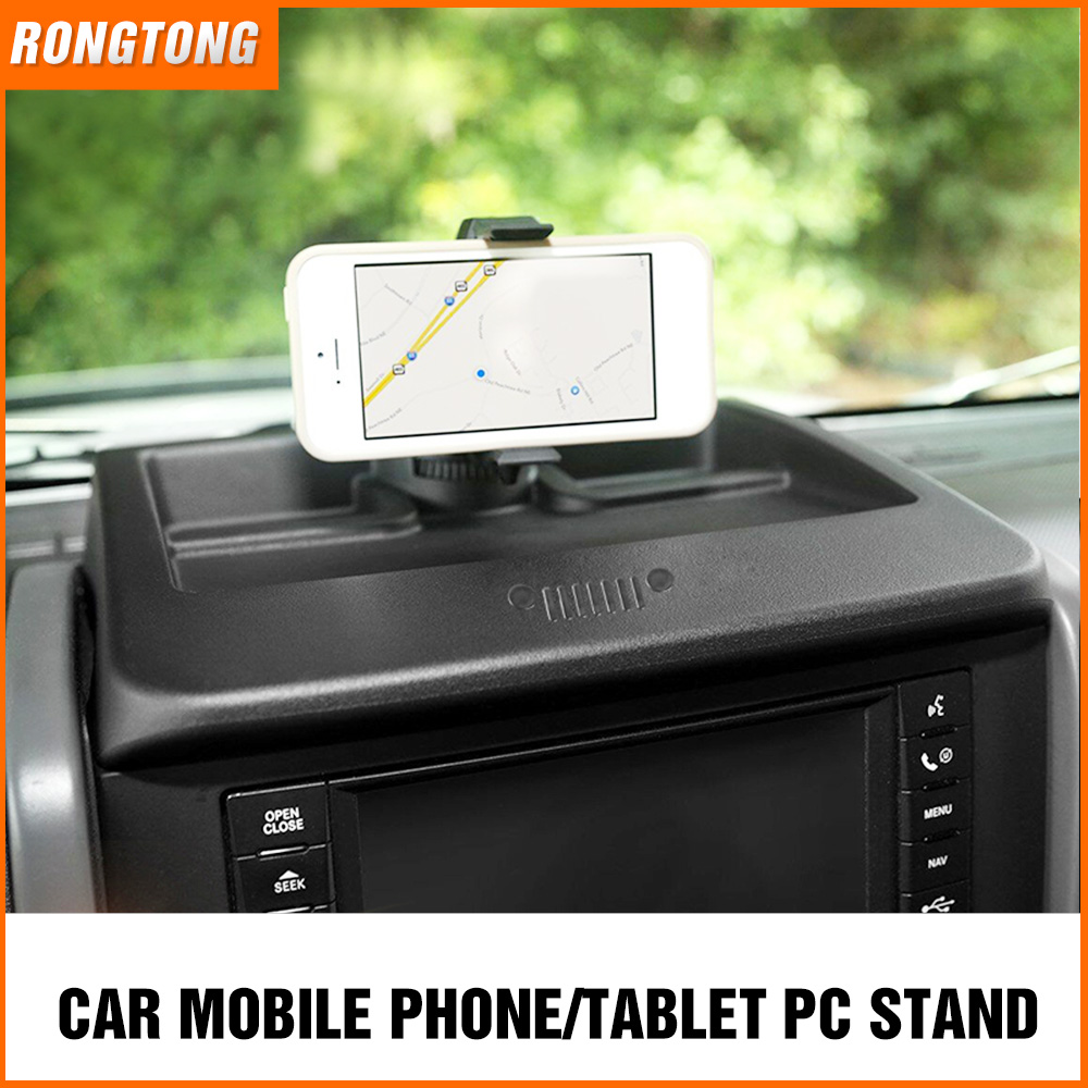Car Mobile & Tablet PC Holder Anti Slip Mat Mount Desktop Stand Bracket for Jeep Wrangler