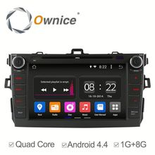 C180 Car Radio Head Unit GPS Navi DVD AUX USB SD RDS 1080P 2 Din GPS navi for Toyota Corolla 2006-2011