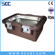 Thermal food pan buffet food container insulated food carrier pan