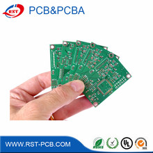 Custom pcb manufacturer single sided kb-3152 fr-1 sma connector pcb small pcb led smart balance board