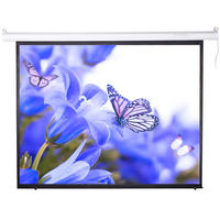 5m roll up motorized projection screen