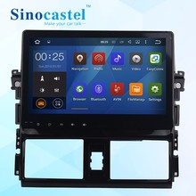 10.1 inch android 5.1.1 quad core car dvd player support rear camera,DVR,TPMS,with BT,E- link for T- Yairs/Vios 2014
