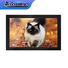 Hot Sale Faismars Used 14-inch LCD Monitor in bulk 1366*768 Widescreen Industrial Monitor Embeded Frame Rack Mount Audio Monitor