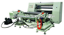 PLC controlled high speed roll material slitting and rewinding machine for adhesive tape, PVC, OPP, PET