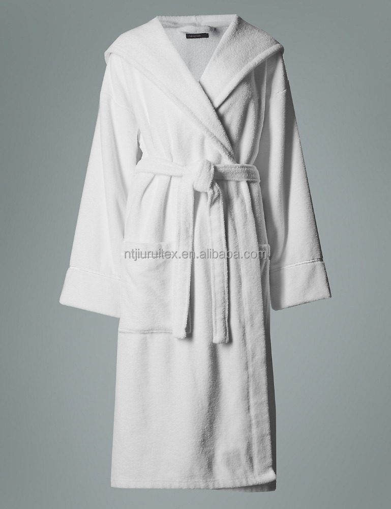 Perfect Cotton Short Dressing Gown Frieze - Images for wedding gown ...