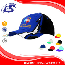 100%cotton Promotional Logo multitudinous baseball hat visor material