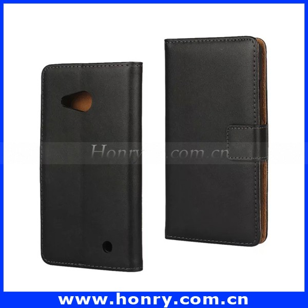 Genuine Leather case for Nokia Wallet Style Flip Stand Phone Back Cover with Card holder