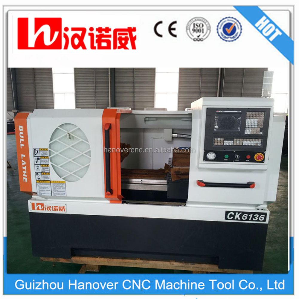 precios de mechanic small lathes cnc lathe CK6136 with 8'' chuck , 4/6 station tool post auto cnc turning lathe machine