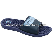 Fashion soft men indoor slipper ,massage slipper