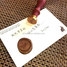 seal wax letterhead hand stamp with custom design online