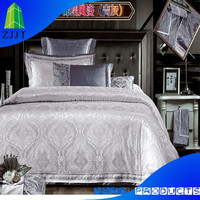 Luxury tourmaline anti-bacteria 4 pcs flat sheet& quilt cover& pillowcases