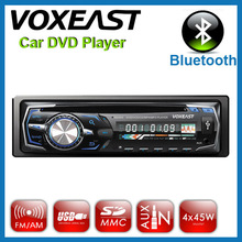 1 din car dvd mp3 player with bluetooth/multi-color/7388ic/12v