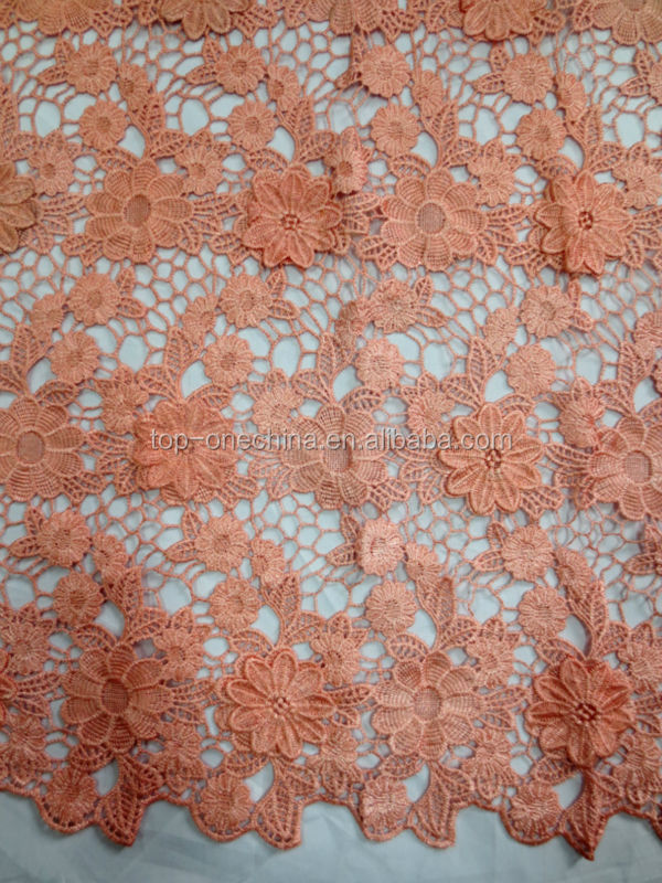 2016 high qualtiy african guipure lace fabric,nigeria guipure lace for wedding dress