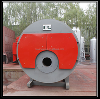 WNS Oil/Gas Fired Steam Boiler Horizontal Spirally Corrguted Steam Boiler
