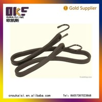 good quality natural latex bungee cord,latex bungee cord with hook , resonable price natural latex rubber thread