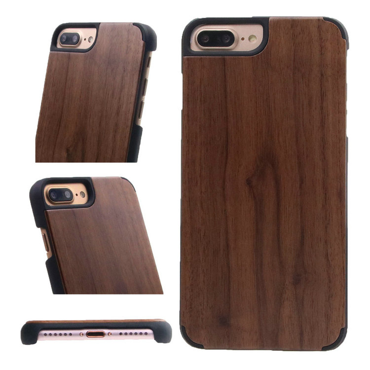 Latest Real Walnut Cherry Bamboo Maple Rose Wood phone case for iphone x cover wood, for iphone x wood