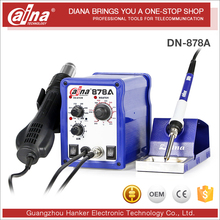 Hot Air And Soldering Station 2 in 1 Daina DN 878A Desoldering Station Automatic BGA Rework Station