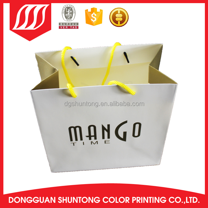Packaging Excellent Customized Printing Kraft retail paper bags