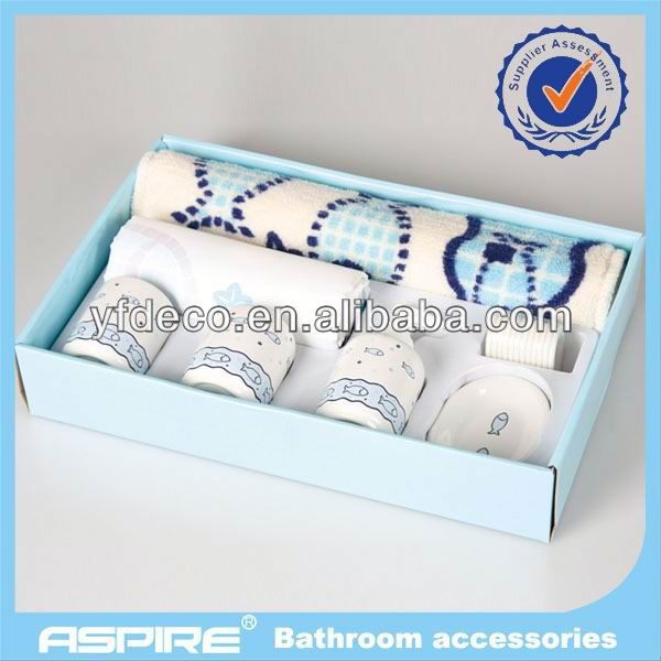7pcs ceramic househole products in matching design