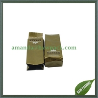 high quality matt aluminium foil coffee pouch bags malaysia