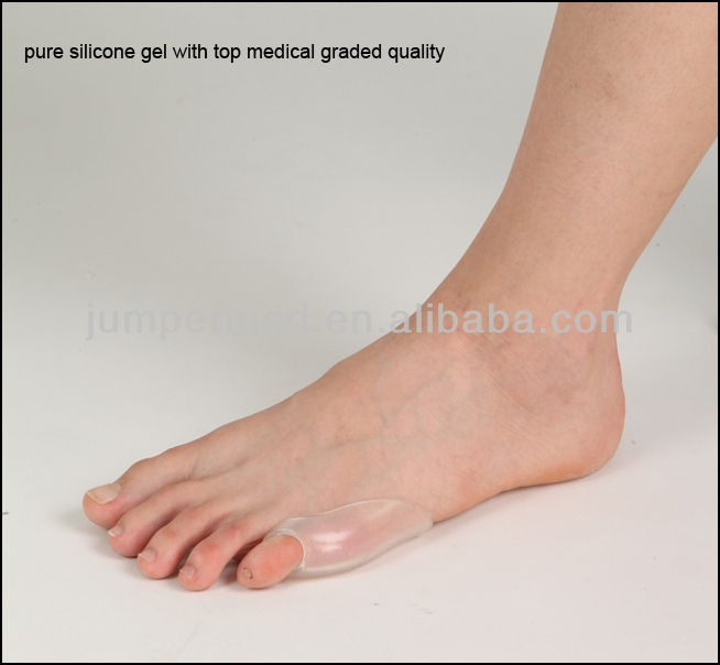 Orthopedic Silicone Gel Foot Pad/silicone toe separator