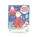 Funny magic paper growing santa