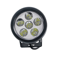 High quality 3W*6pcs round 4inch 18W led fog light 12v 24v IP67 waterproof for car truck off-road jeep boat ATV