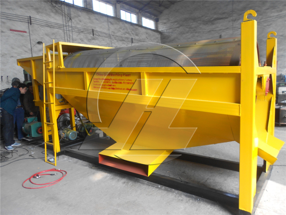 HSM Professional Best Price rotary drum trommel screen rolling cylinder sieve