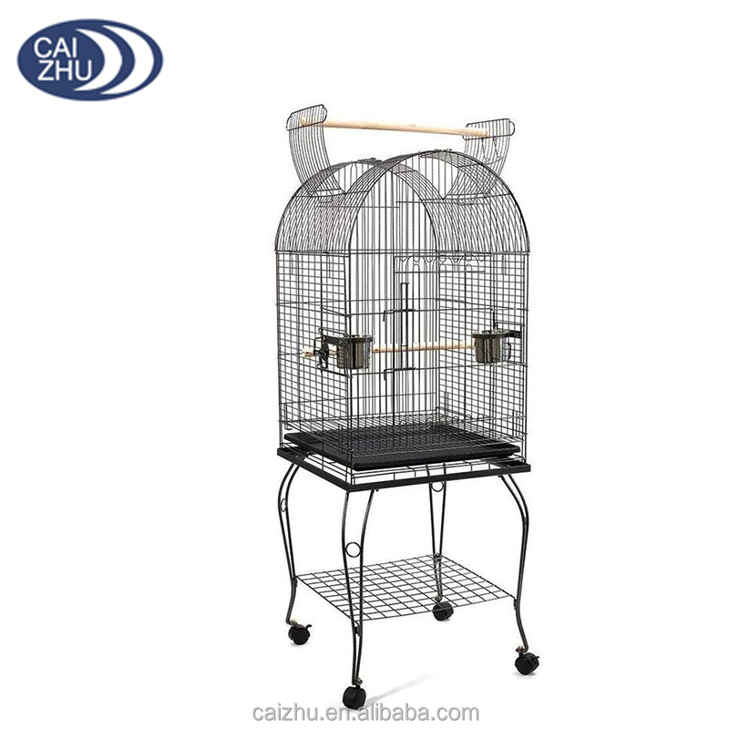 Portable Open Top Pet Budgie Canary Parakeet The Parrot Aviary Bird Cage