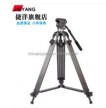 Video Tripod with Carbon Fiber Material for Video camera Jieyang 0508c