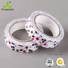Colourful spot adhesive masking tapes for festival and party decoration tapes