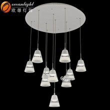 Modern crystal chandelier looking for agents to distribute our product pendant lamp for dinning room OM88428-10W