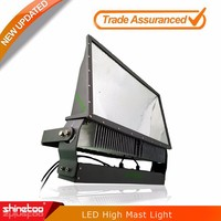 2016 New design 130LM/W led high mast light IP65 waterproof UL DLC led flood light