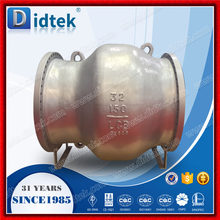 Didtek Fire Test LCC Non Slam Axial Flow Check Valve,Silent axial check valve
