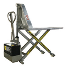 1ton capacity Stainless Steel High Lift Scissor Pallet Truck EHPTS Series
