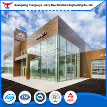 Q235B steel structure prefabricated warehouse / car park for modular building
