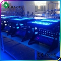 2015 for sale factory price 96*10w led city color IP65 wall wash stage lighting