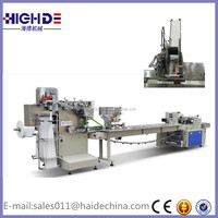 Disposable Aviation Tableware Pillow Packaging Machine