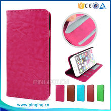 Book Style Design Magnet Leather Stand Flip Cover For Alcatel Pixi 4 Plus Power