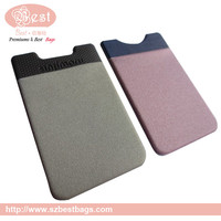 2015 Special 3M wallet card holder leather case for iphone 5